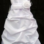 Satin Pickup flower girl dress