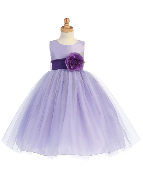 dc4f04da97e Tutu Dress Flower Girl - Silver - Grandma s Little Darlings