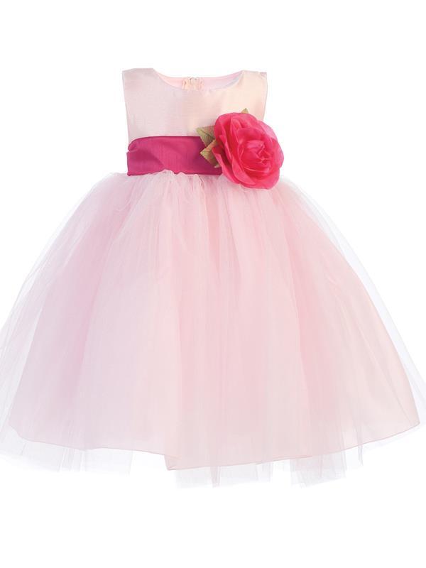 Tutu flower girl dress silver grandmas little darlings tutu flower girl dress mightylinksfo
