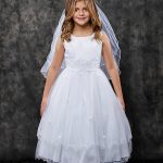Classic Lace Waist girls Dress