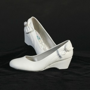 girls wedge dress shoe