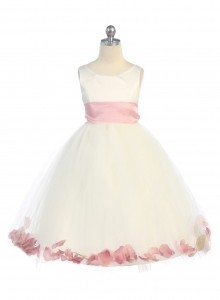 flower girl petal dress