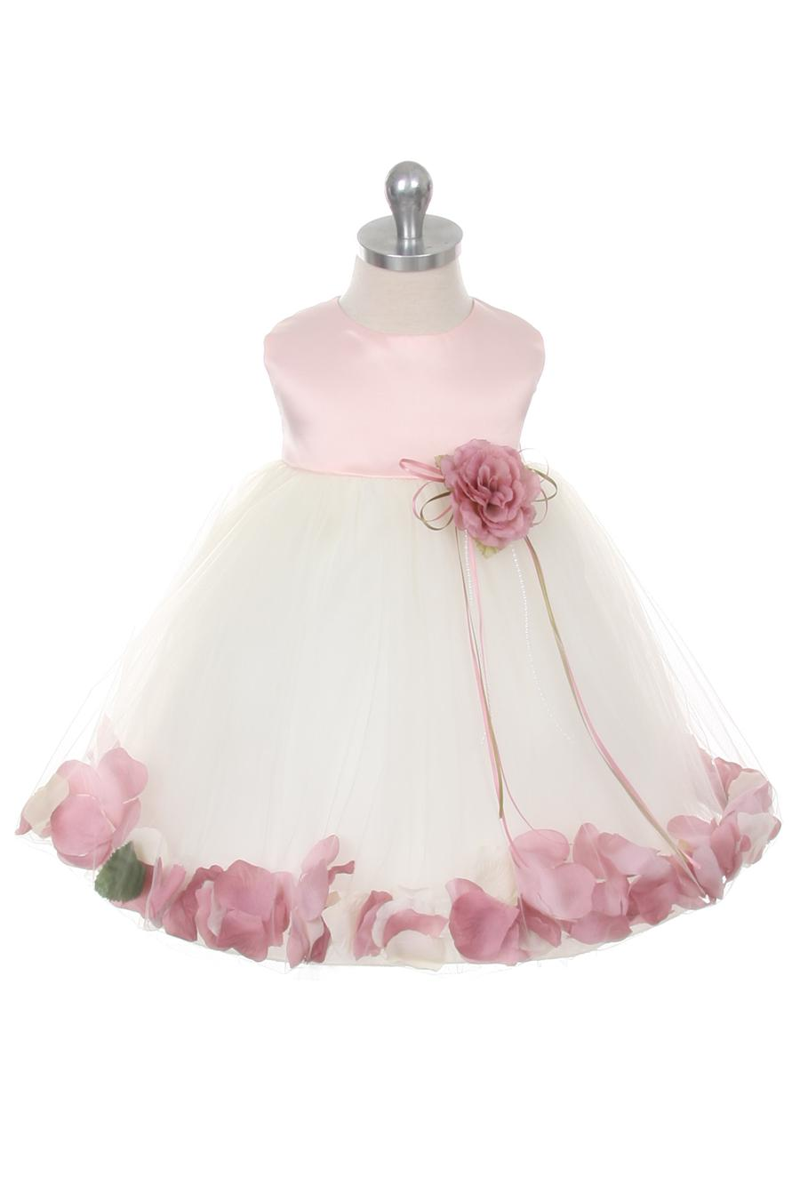 Petal Dress Baby No Sash To Customize Grandma s Little