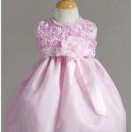 ribbon rose top dress