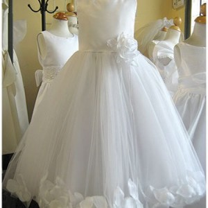 Petal Flower Girl Dress