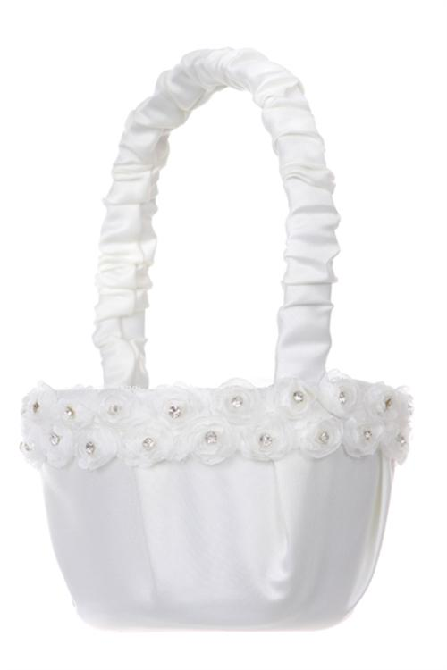 Flower Girl Baskets Toronto : Formal kids accessories for flower girl communion