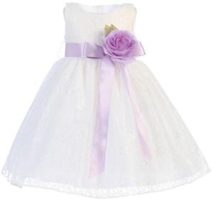lace girls dress