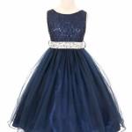 glamour girl flower girl dress
