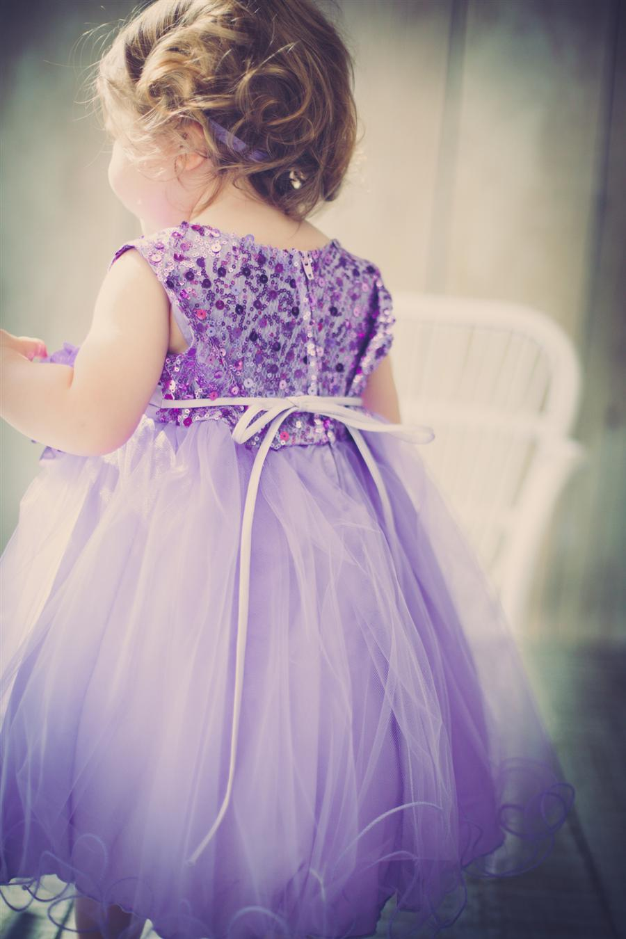 Lavender Girl Dress