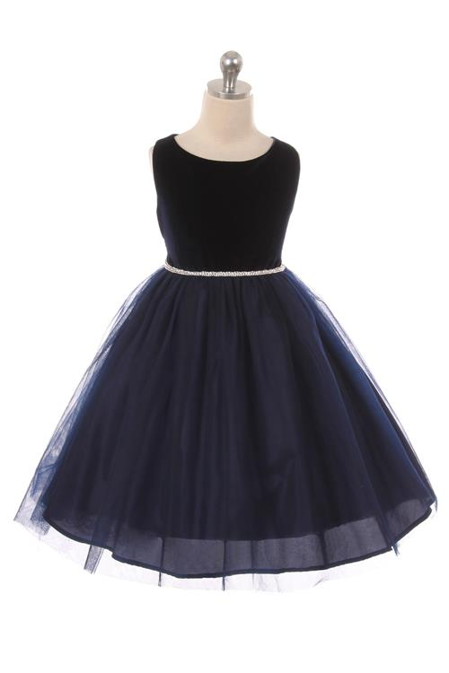 f4008d8ff Velvet   Tulle Girls Holiday Dress Girls Dress