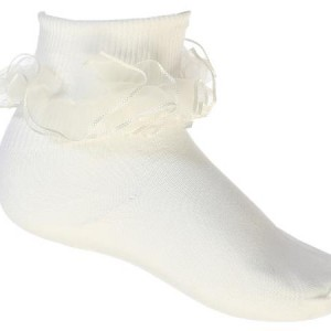 Girls Ruffled Sock