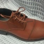 Boys Brown Dress Shoe
