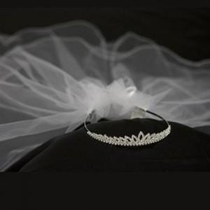 First Communion Veil Princess crown