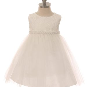 baby girls lace top dress