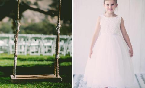 fe013fd9271 5 Flower Girl Dress Inspired Ideas for a Fairytale Summer Wedding ...