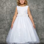 glitter tulle girls dress