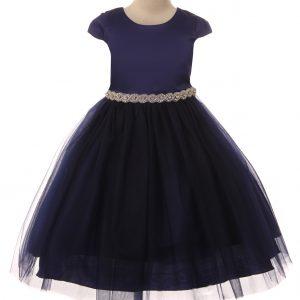 girls cap sleeve dress